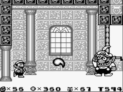 Wario as the final boss of Six Golden Coins