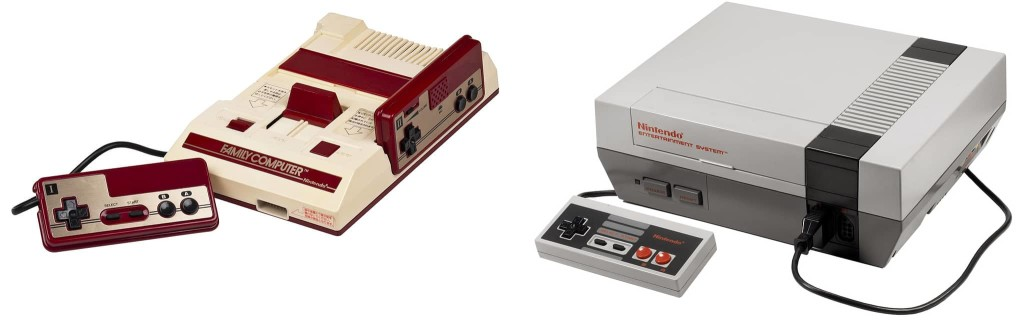 NES VS Famicom