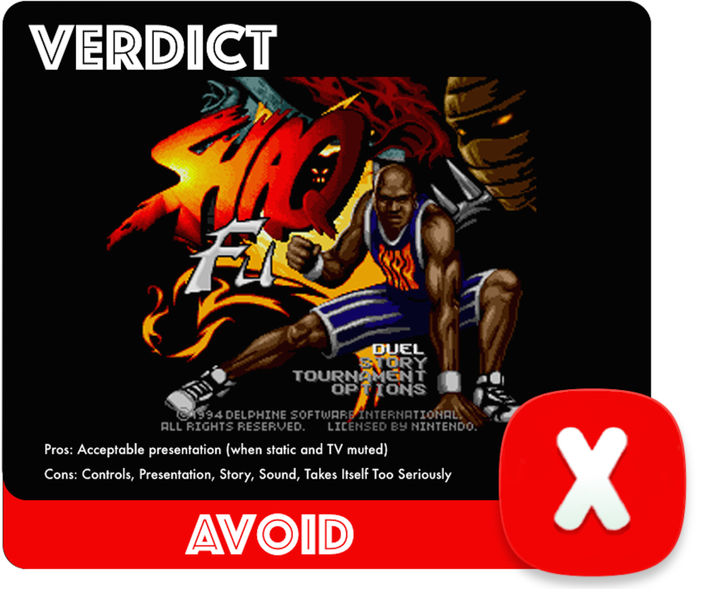 Shaq Fu Review