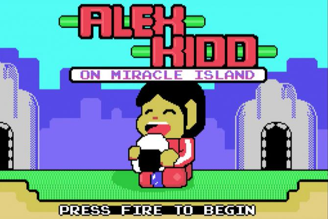 Alex Kidd Homebrew