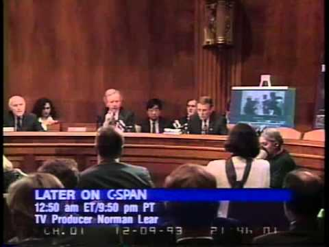 1993 Joint Senate Judiciary and Government Affairs Committee