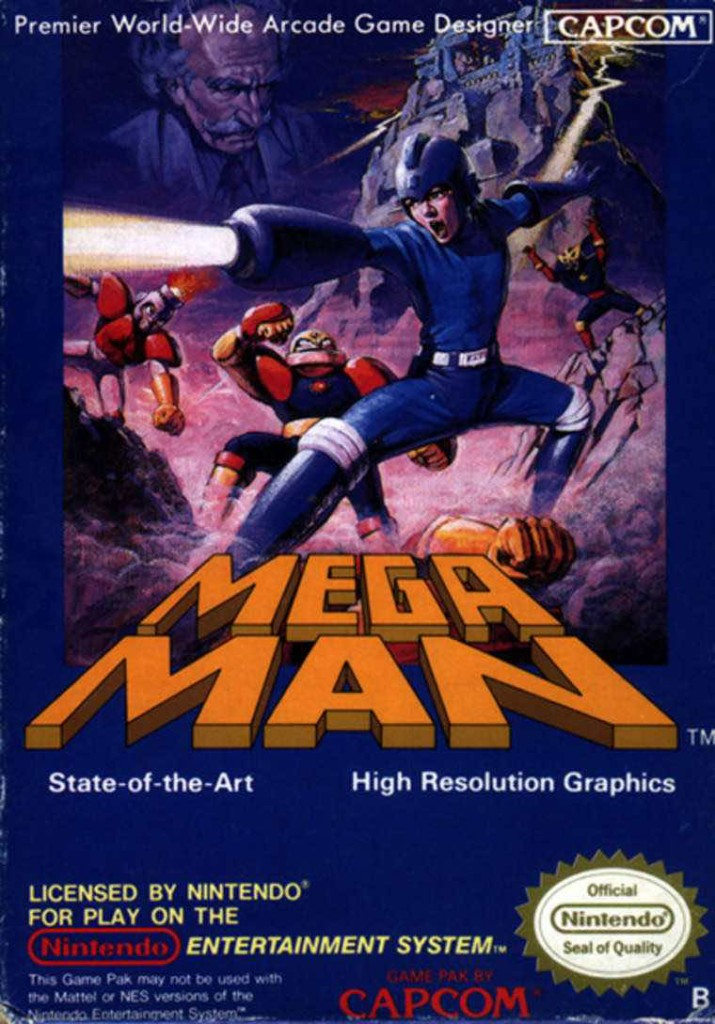 Mega Man EU Art
