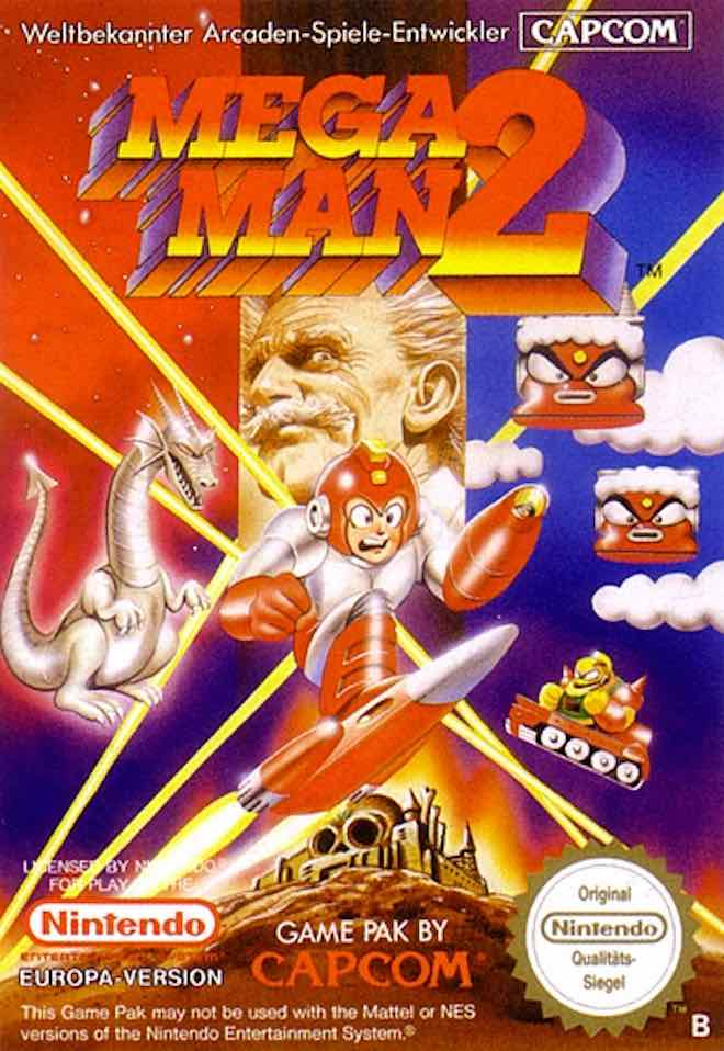 Mega Man 2 DE Cover