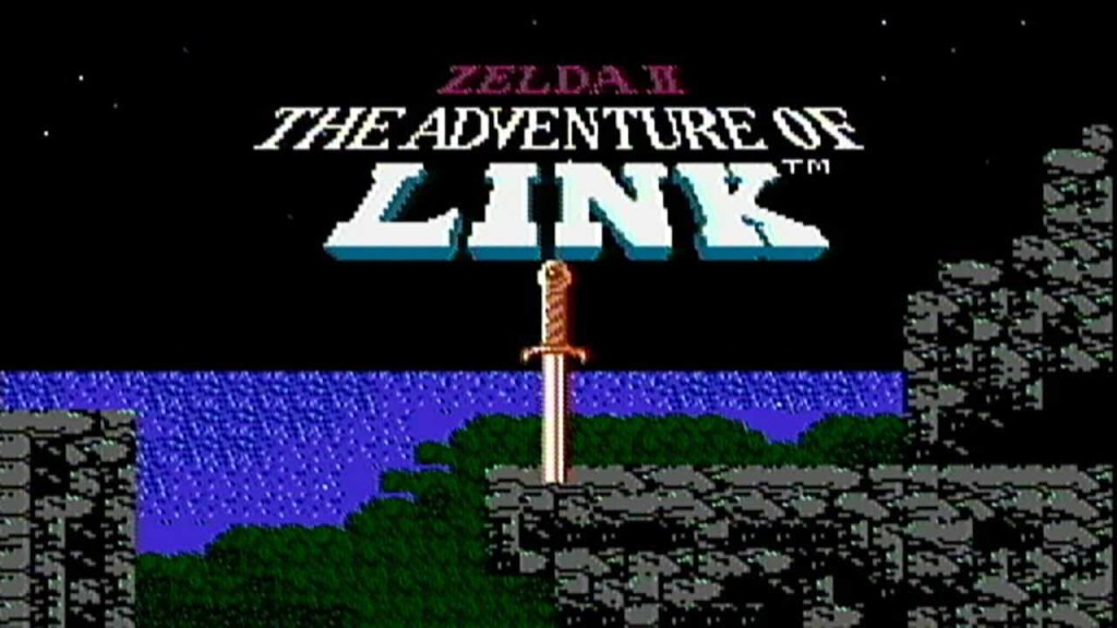 Zelda II Main Screen