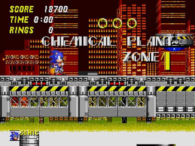 Chemical Plant Zone
