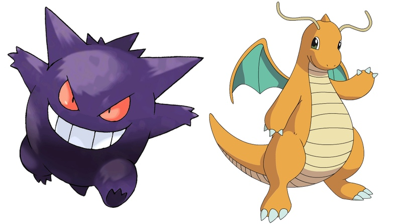 Gengar & Dragonite