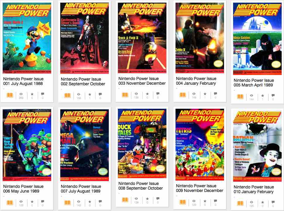 Nintendo Power Archive