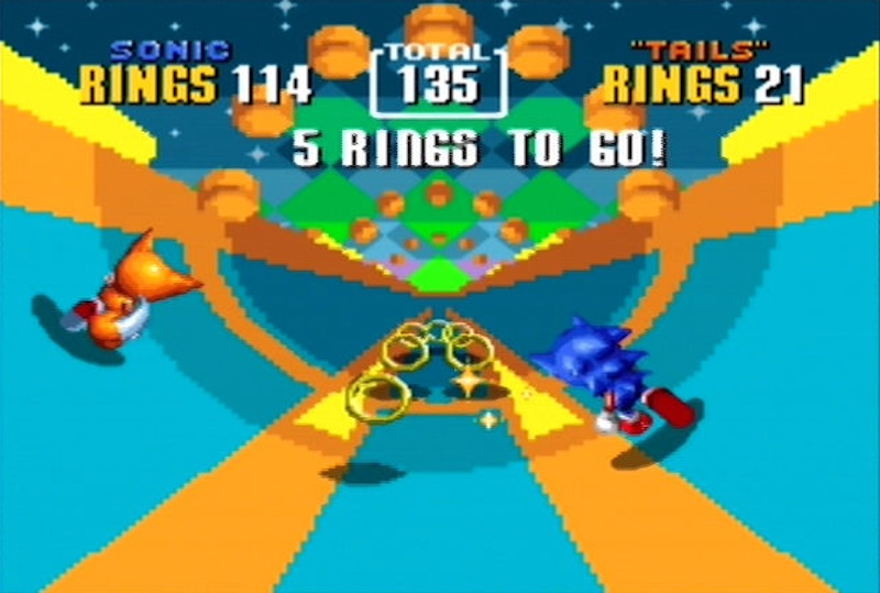 Sonic 2 Special Stage