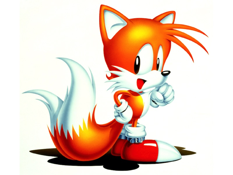 Tails Sonic 2 Art