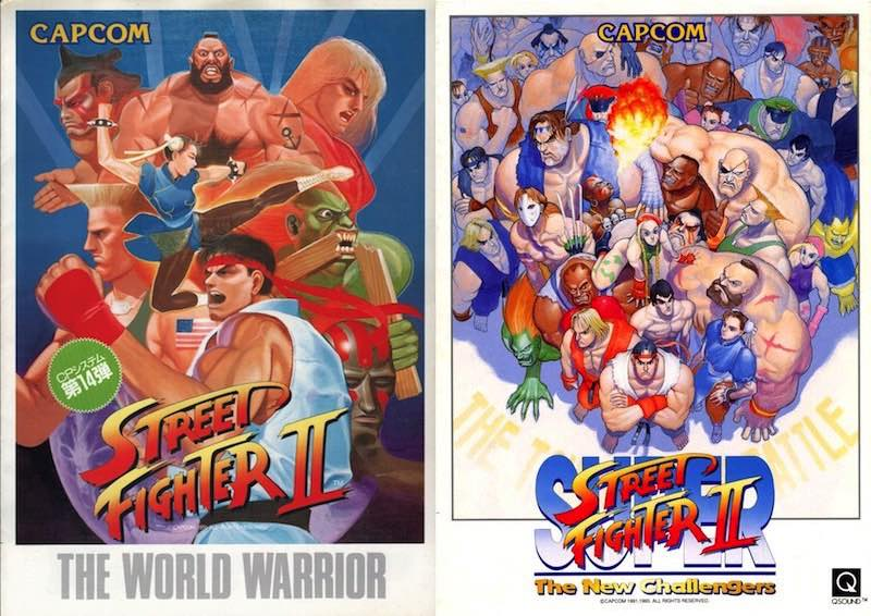 Street Fighter II Posters