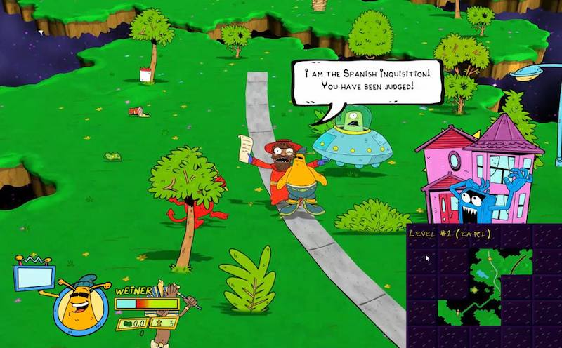ToeJam & Earl: Back in the Groove Gameplay