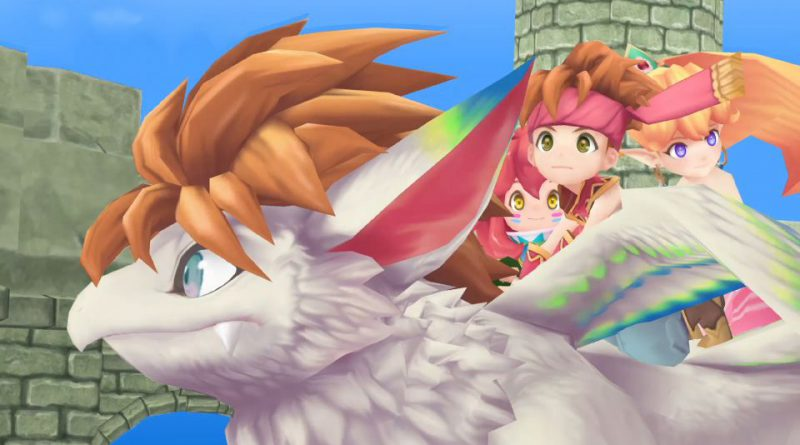 Secret of Mana Remake Banner